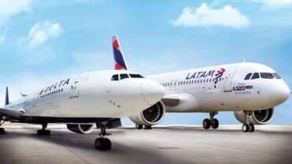 Latam e Delta querem voar