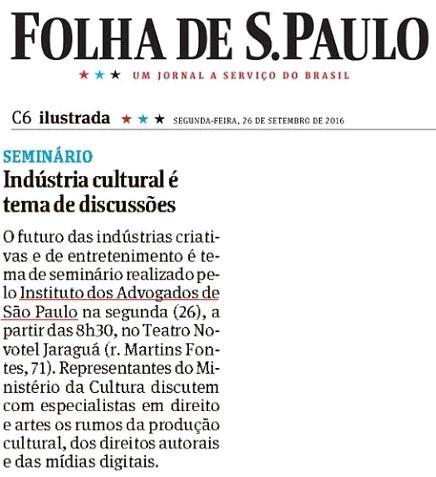 Indústria cultural é tema de discussões
