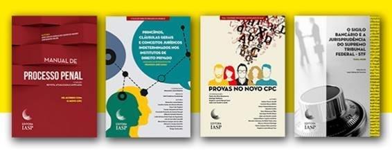 IASP fará lançamento conjunto de quatro livros