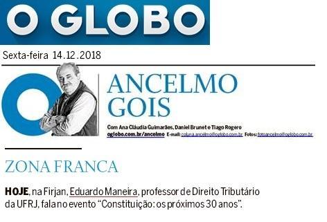 """Eduardo Maneira palestra no evento """"Constituição: os próximos 30 anos"""""""