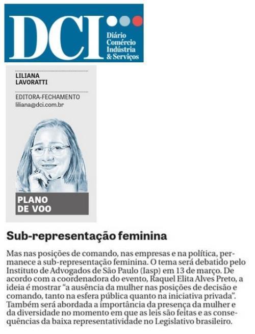Sub-representação feminina