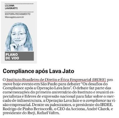 Compliance após Lava Jato