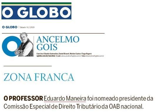 Professor Eduardo Maneira nomeado para comissão da OAB