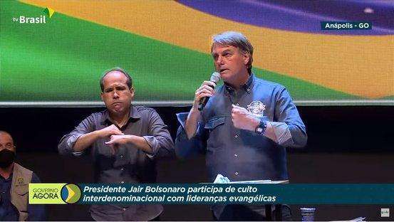 Transmissão de culto pela TV Brasil configura crime de responsabilidade, dizem especialistas