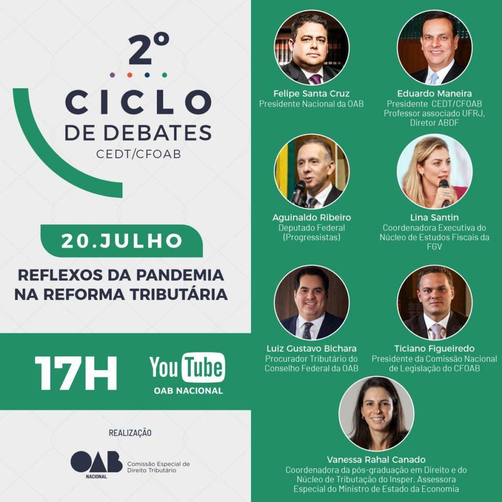OAB Nacional debate os reflexos da pandemia na reforma tributária