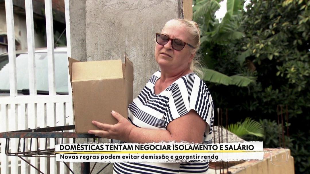 Empregadas domésticas tentam negociar isolamento social e salário durante quarentena em SP