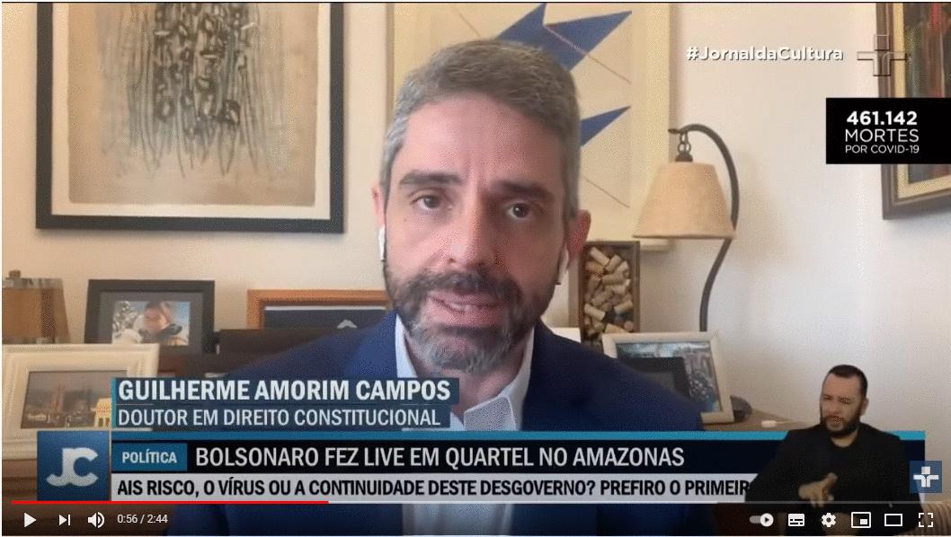 Live de Bolsonaro em quartel do Exército pode configurar crime