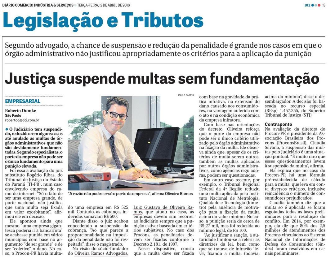 Justiça suspende multas sem fundamentação