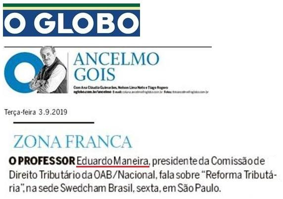 Debate sobre reforma tributária na Swedcham Brasil