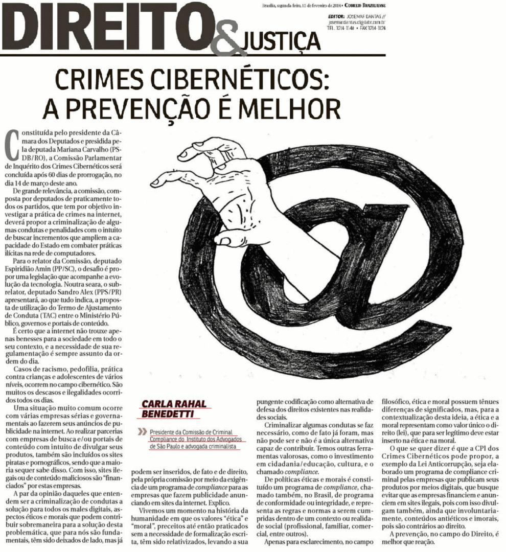 Crimes cibernéticos: a prevenção é melhor