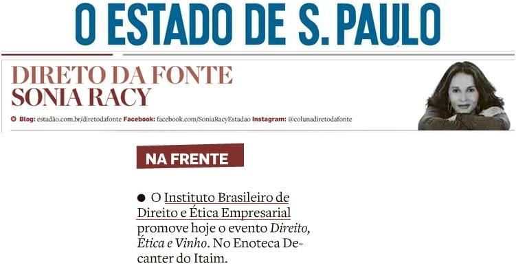 """Na Frente: IBDEE promove evento """"Direito, Ética e Vinho"""""""