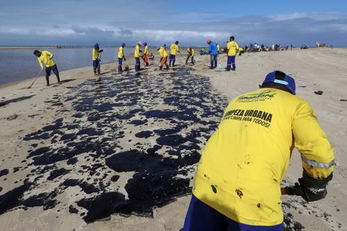 CPI do vazamento de óleo pode ser instalada até segunda-feira