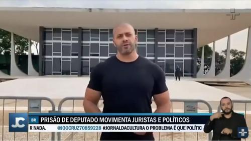 A prisão do deputado Daniel Silveira foi o assunto do dia entre juristas e políticos