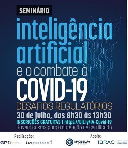 Congresso online debaterá Inteligência Artificial no combate à Covid-19