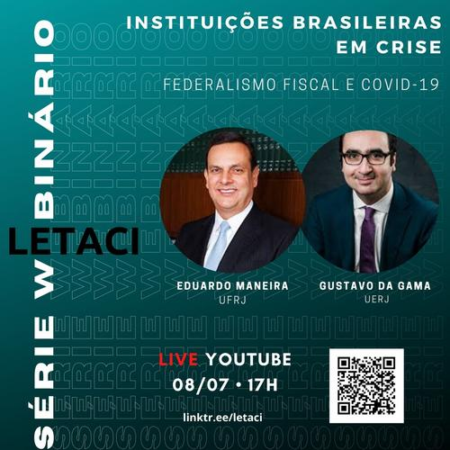 Webinar: Federalismo Fiscal e COVID-19